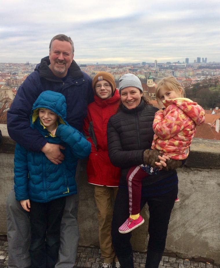 family in prague