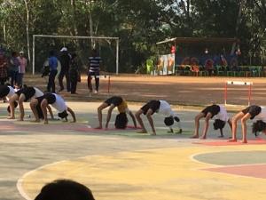 sports day yoga